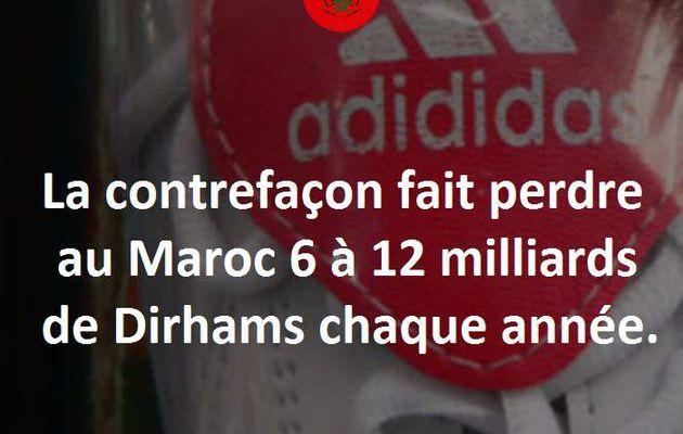 Perte de 6 à 12 milliards de DH à cause de la contrefaçon.