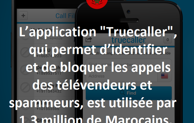 1,3 million de Marocains utilisent Truecaller