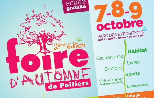 La nouvelle affiche de la Foire d'automne 2ème édition
