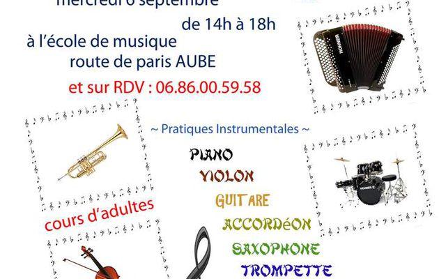 Inscriptions Ecole de Musique Jean Potier