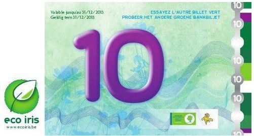 Eco-Iris: Bruxelles évalue sa monnaie complémentaire  mais ne l'abandonne pas