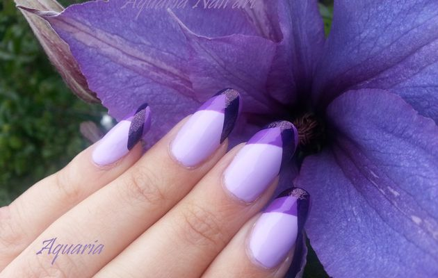 Nail art simple avec 3 vernis