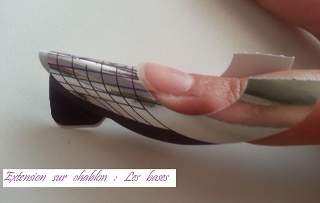 Tuto extension sur chablon au gel UV