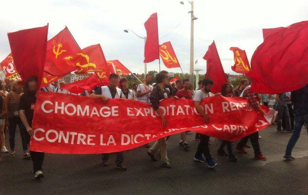 15 SEPT : MANIFESTATION CONTRE LA LOI TRAVAIL !