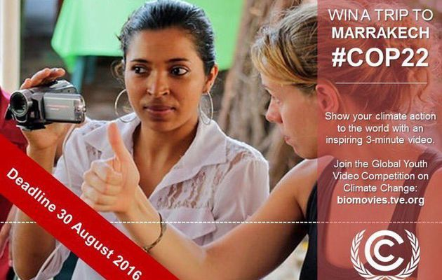 Participez à la COP22 grâce à la Global Youth Video Competition