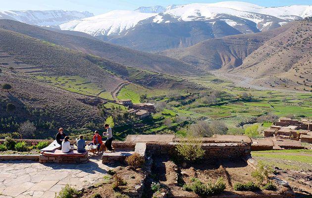Comment le Maroc développe t'il son tourisme vert?