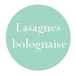 Lasagne bolognaise maison (bolognaise maison)