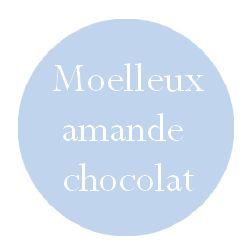 Moelleux amande coeur chocolat individuel