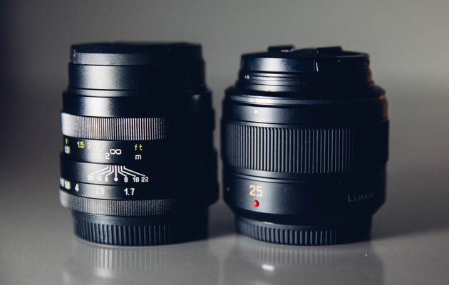 Test comparatif Objectifs : PANASONIC 25mm F1.4 vs ZHONGYI MITAKON 24mm F1.7