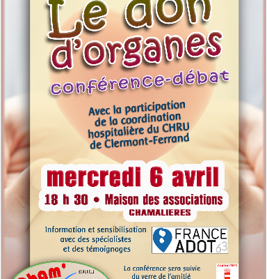 conférence dons d'organes