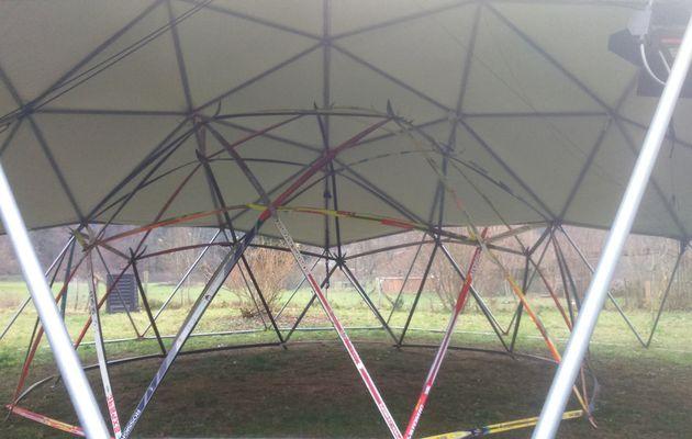 Le Dome de Biel le 04/12/15