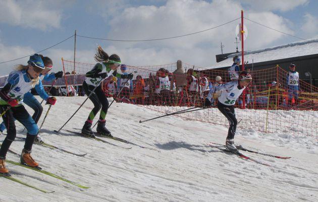Finale du Nordic Skiercross aux Saisies le 25/03/17