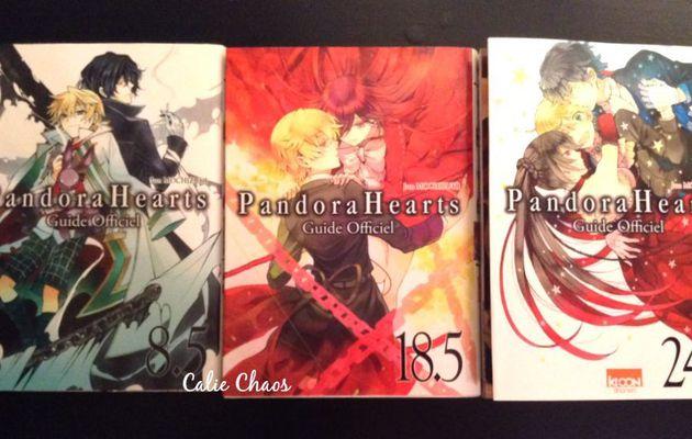 Sondages, information et petites photos de Pandora Hearts!