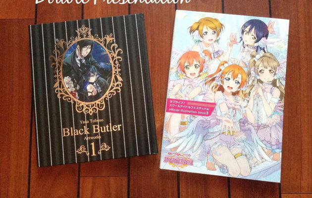 Double Présentation : Love Live Official Illustration Book 3 & Black Butler Artbook 1