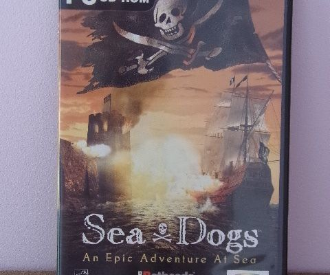 JEU CD-ROM PC SEA ET DOGS AN EPIC ADVENTURE AT SEA