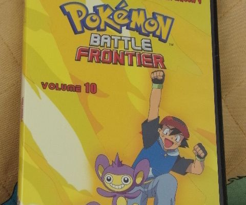 DVD POKEMON BATTLE FRONTIER - SAISON 9, VOLUME10 - 4 épisodes : 937 à 940