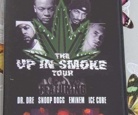 DVD CONCERT - THE UP IN SMOKE TOUR - DR.DRE & SNOOP DOGG & ENIMEN - ICE CUBE