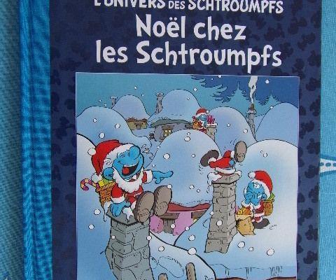 BD Collection Les Schtroumpfs - Noël chez les Schtroumpfs Hachette 2016 - Peyo