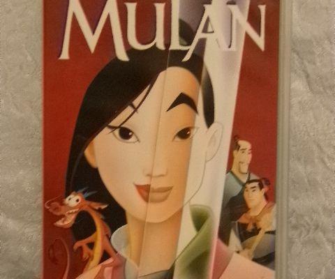 Cassette vidéo VHS - Walt Disney Les Grands Classiques : MULAN