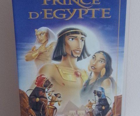 Cassette vidéo - VHS - Le Prince D'EGYPTE - Dessin animé