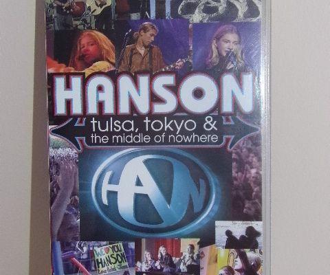 Cassette vidéo - VHS - HANSON TULSA, TOKYO & THE MIDDLE OF NOWHERE
