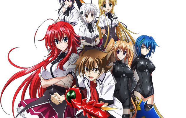 Animés/mangas #5 : Highschool DxD