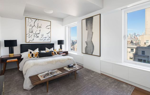 See Inside Keith Richards' Glamorous Fifth Avenue Penthouse