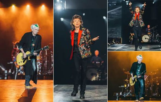 Hier soir à Paris... The Rolling Stones