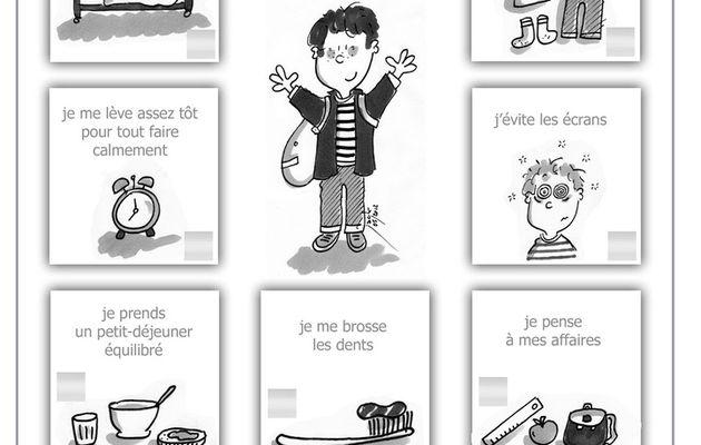 10 trucs faciles pour arriver à l'école en pleine forme !