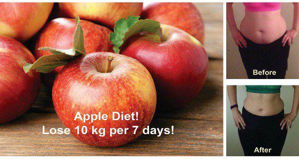 Comment perdre 10 kg par 7 Jours Avec cette pomme Incroyable!