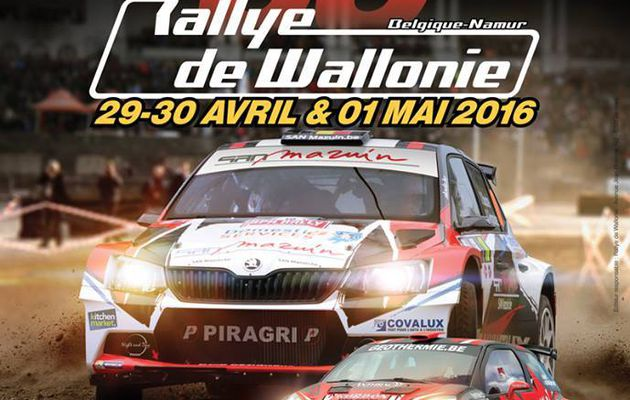 Rallye de Wallonie : Un plateau exceptionnel