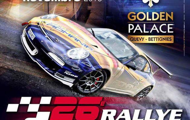 Soirée sport auto rallye à Hautmont-59 le 17 septembre