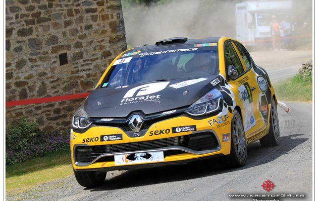 Manu GUIGOU au départ du Rallye Mont-Blanc Morzine !