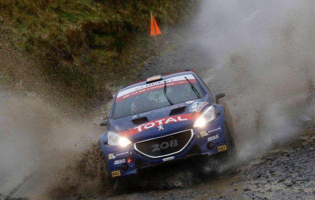 Fin de saison pour la Peugeot Rally Academy