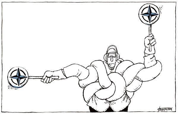 OTAN va la cruche à l'eau...