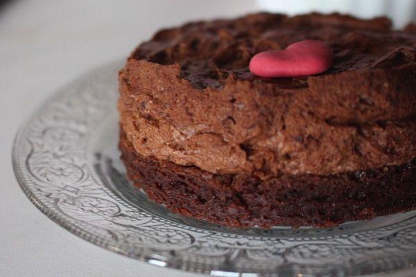 Mon gâteau au chocolat