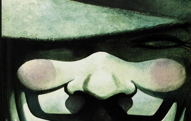 V pour Vendetta, Alan Moore & David Lloyd, une BD intense