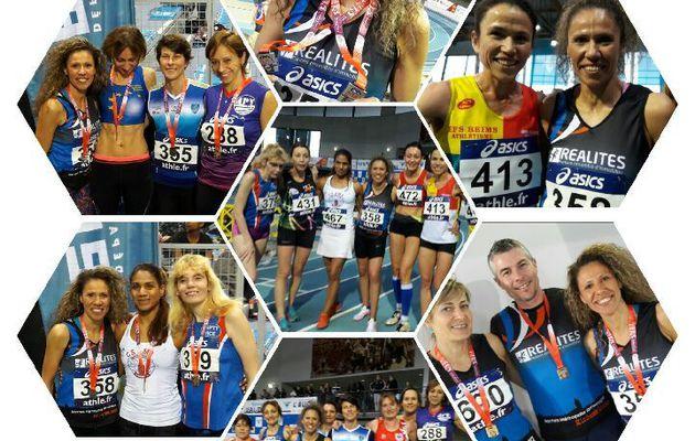 Championnats de France Masters en salle : Zahia Jory et le NMA en puissance !