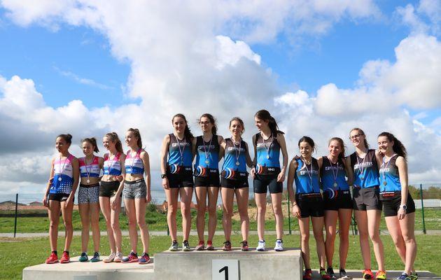 Championnats départementaux relais et marche - Bouaye (44)