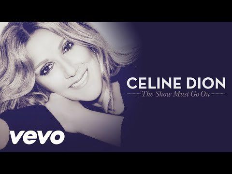 Celine dion show must go on