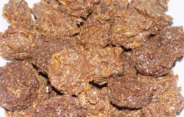 Roses des sables chocolat au lait/noix de coco