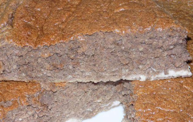Moelleux chocolat noisette dukan