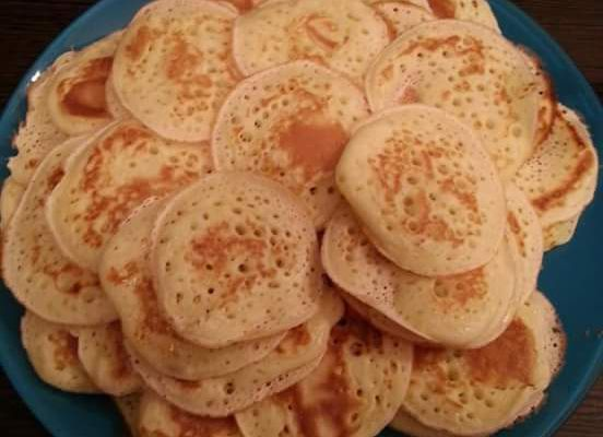 Blinis faciles