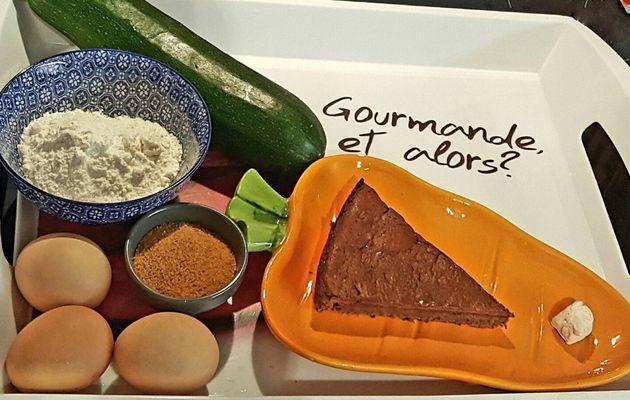 Gâteau au Chocolat sans Beurre avec une Courgette