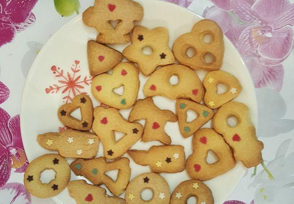 Sablés de Noël, biscuits aux épices d'Alsace façon pain d'épices pour le goûter