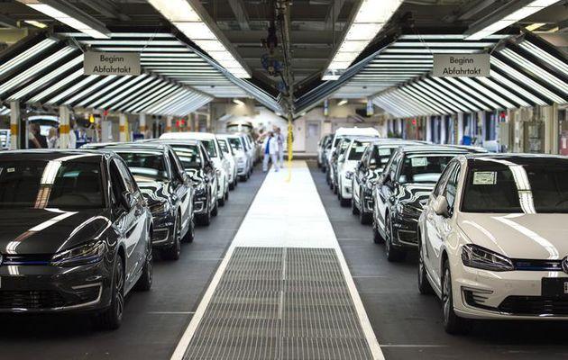 Les immatriculations de VW en forte baisse en octobre