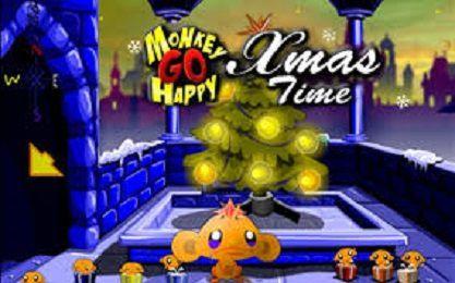 Monkey Go Happy Xmas Time