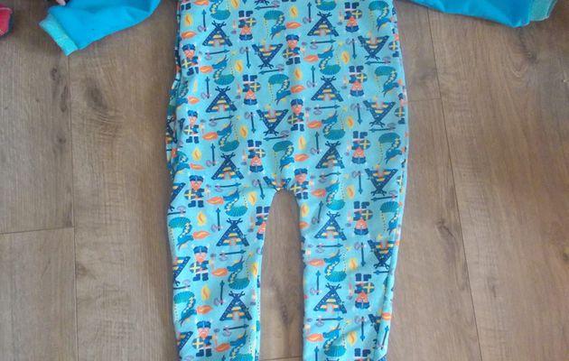 Pyjama pour petit gars(ou petit viking!)