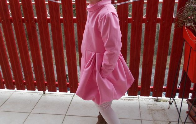 Un manteau de princesse(défi)