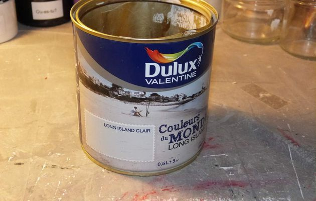 Recycler un pot de peinture...